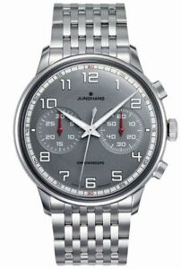 AUTHORIZED-DEALER-Junghans-027-3686-44-Meister-Driver-Chronoscope-Watch