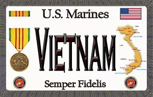 Marine-Vietnam-Tough-Durable-Magnetic-Sign-6-inches-X-3-75-inches