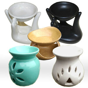 Oil Burner For Fragrance Oils Simmering Granules Wax Melts Selection to pick