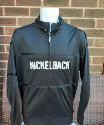 Nickelback Tracksuit Top in black size M