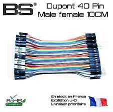 Cable Liaison Dupont 40 pin Male female 10CM vero proto board 2.54mm header
