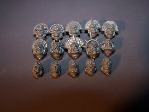 15 Space Marine Blood Angel Sanguinaire Guard Heads Bits-afficher Le Titre D'origine Activation De La Circulation Sanguine Et Renforcement Des Nerfs Et Des Os