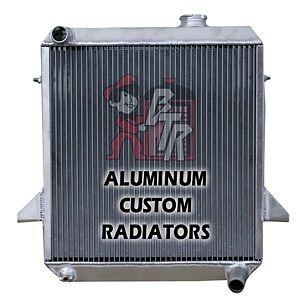 40MM Aluminum Radiator For Triumph TR6 1969-1974 TR250 TR 250 1967-1968