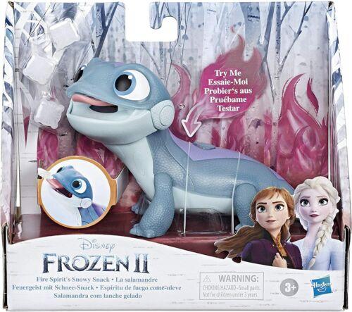 Disney Frozen 2-Fire Spirit/'s Snowy Snack Bruni the Salamander avec lumières