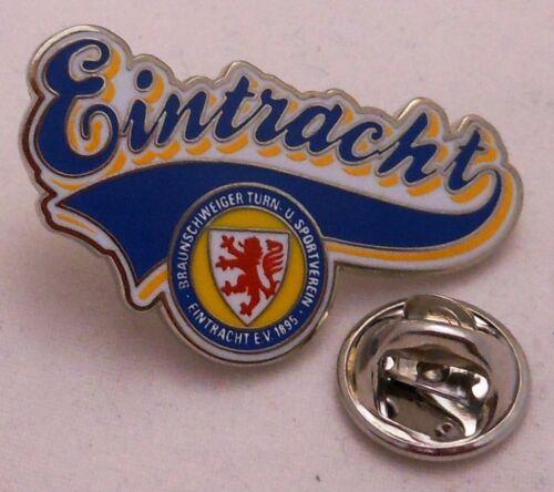 Lizenzware Signet Logo Schrift 57 Pin // Anstecker Eintracht Braunschweig