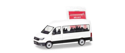 Herpa 012935 MiniKit MAN TGE Bus weiß Scale 1 87