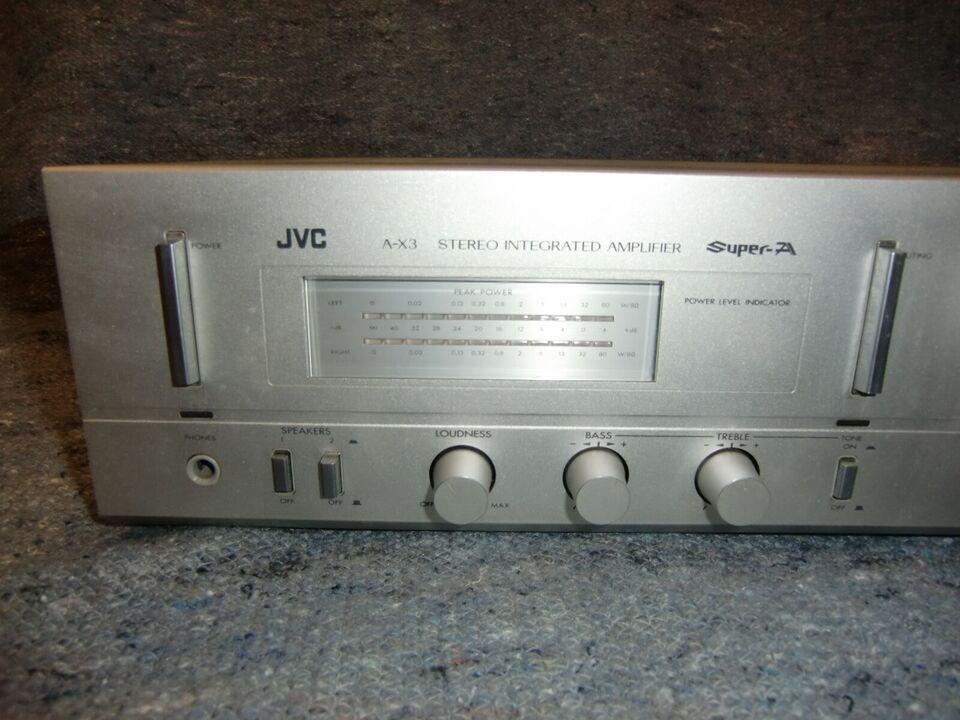 Integreret forstærker, JVC, A-X3