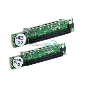 2PCS-2-5-034-IDE-HDD-44Pin-Drive-Female-to-7-15pin-Male-SATA-Adapter-Converter-Card