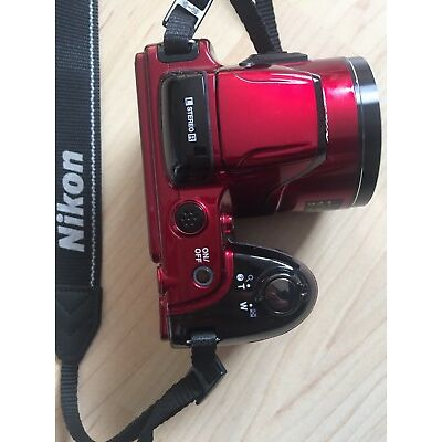 Nikon COOLPIX L810 Digitalkamera - Rot