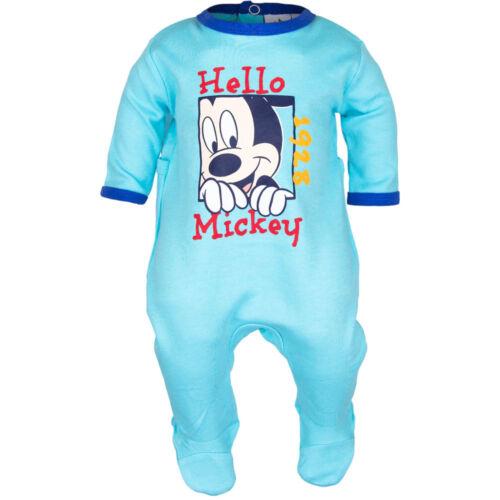 NEU Baby Jungen Micky Maus Baumwoll  Strampler  Gr.68  80 86 92   Englandmode