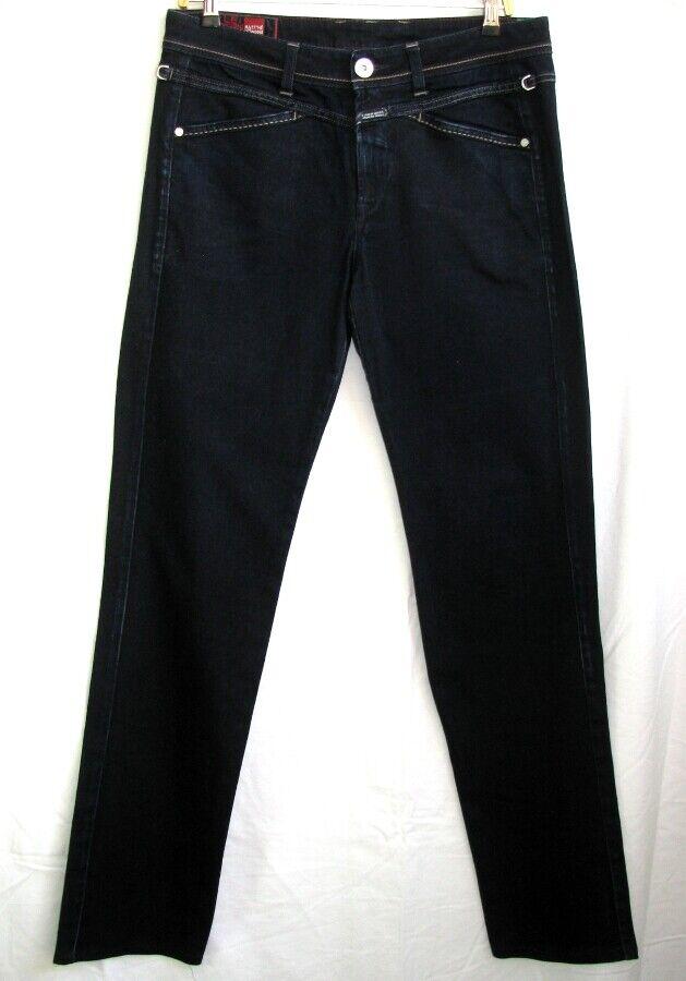 Marithé & François Girbaud - Straight Jeans Cotton bluee Brut T 34 = 44 Fr - as