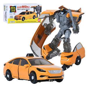 Korean TV  Figure Toy HELLO CARBOT Micro Sonata Arty Transformer robot Car