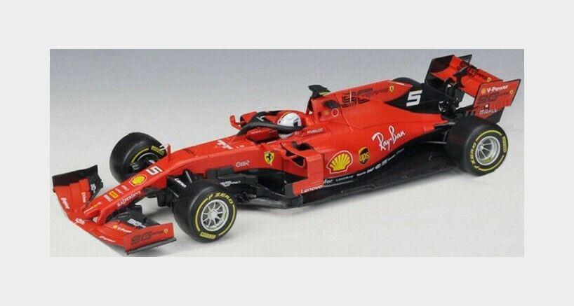 Ferrari F1 Sf90 Mission Winnow  5 Season 2019 S.Vettel BURAGO 1 18 BU16807V