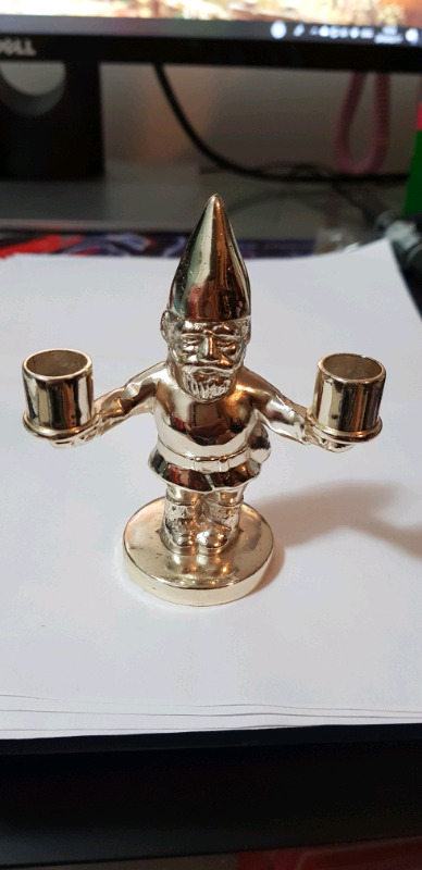 Silver plated elf