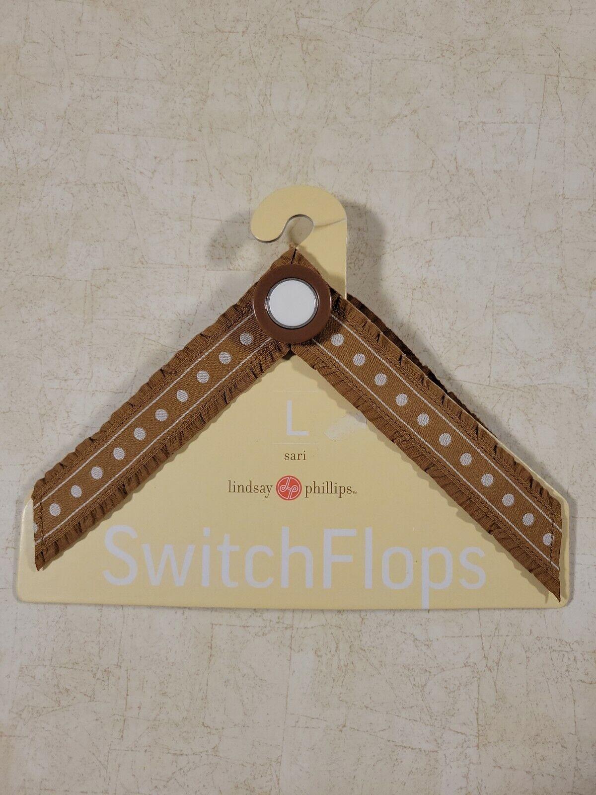 Lindsay Phillips switchflops straps, Sari, Large Interchangeable Straps