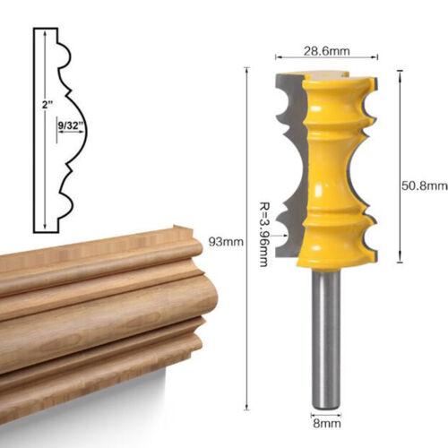 Schaft 8 mm Holzfräser Fräser Nuter Freser für Schränke und Kisten