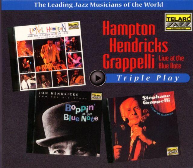 CD Hampton, Hendricks, Grappeli - Triple Play (3 CD-Set)