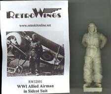 RetroKits Models 1/32 WORLD WAR I ALLIED AIRMAN IN SIDCOT SUIT