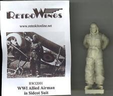 RetroKits Models 1/32 WORLD WAR I ALLIED AIRMAN IN SIDCOT SUIT