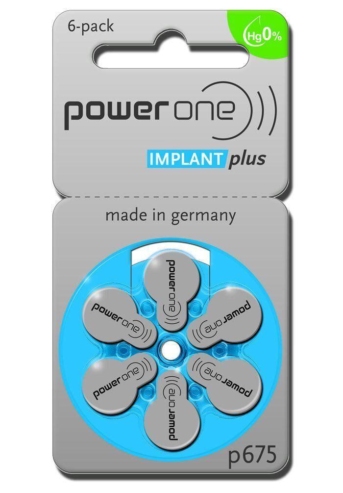 PowerOne Implant Plus Cochler - Typ  675