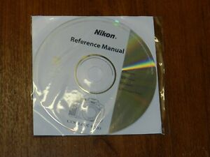 New Nikon OEM Genuine CD with User's Guide Instructions Manual for Coolpix P520