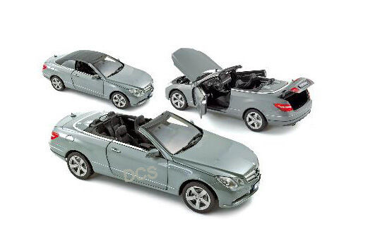 Norev 2011 Mercedes E500 E Klasse Silbern Convt 1 18 Auto
