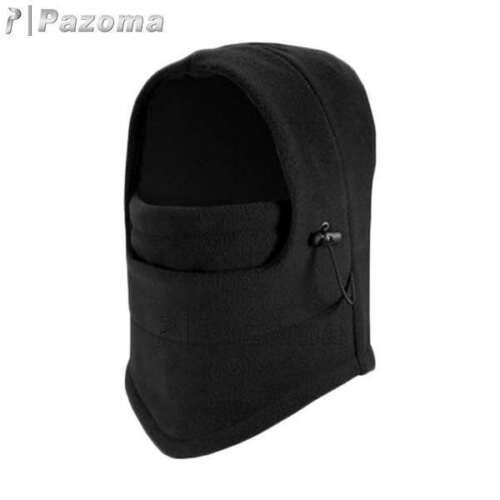 Men Winter Warm Full Face Fleece Hood Ski Mask Cat Beanie CS Hat Neck Balaclava