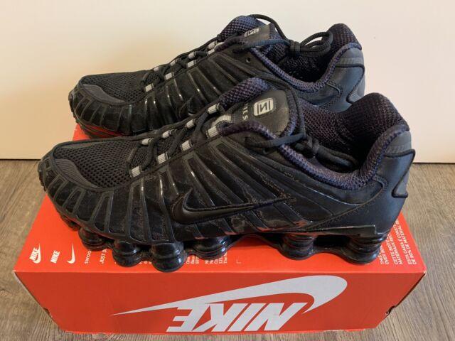 Nike Shox TL Triple Black Bv1127 001 Men's Size 11 for sale ...