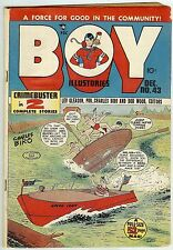 Boy Comics #43 (52 pages, Gleason 1948, fn 6.0) guide price: $54.00 (£36.00)