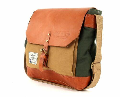 Camp David TRAPPEURS Creek crossbag sac à bandoulière vert