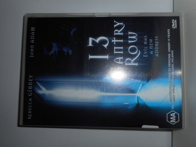13 GANTRY ROW DVD HORROR,AUSTRALIAN FILM,REBECCA GIBNEY