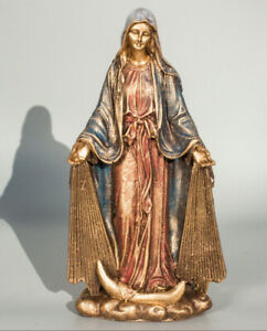 Blessed-Mother-Statue-Our-Lady-Religious-Virgin-Mary-Madonna-Figurine-Sculpture