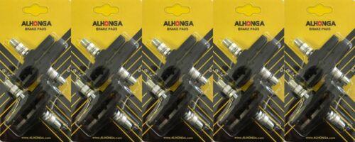 4-80Stück Fahrrad V-Brake Bremsschuhe Bremsbeläge auch für Shimano geeignet 70mm