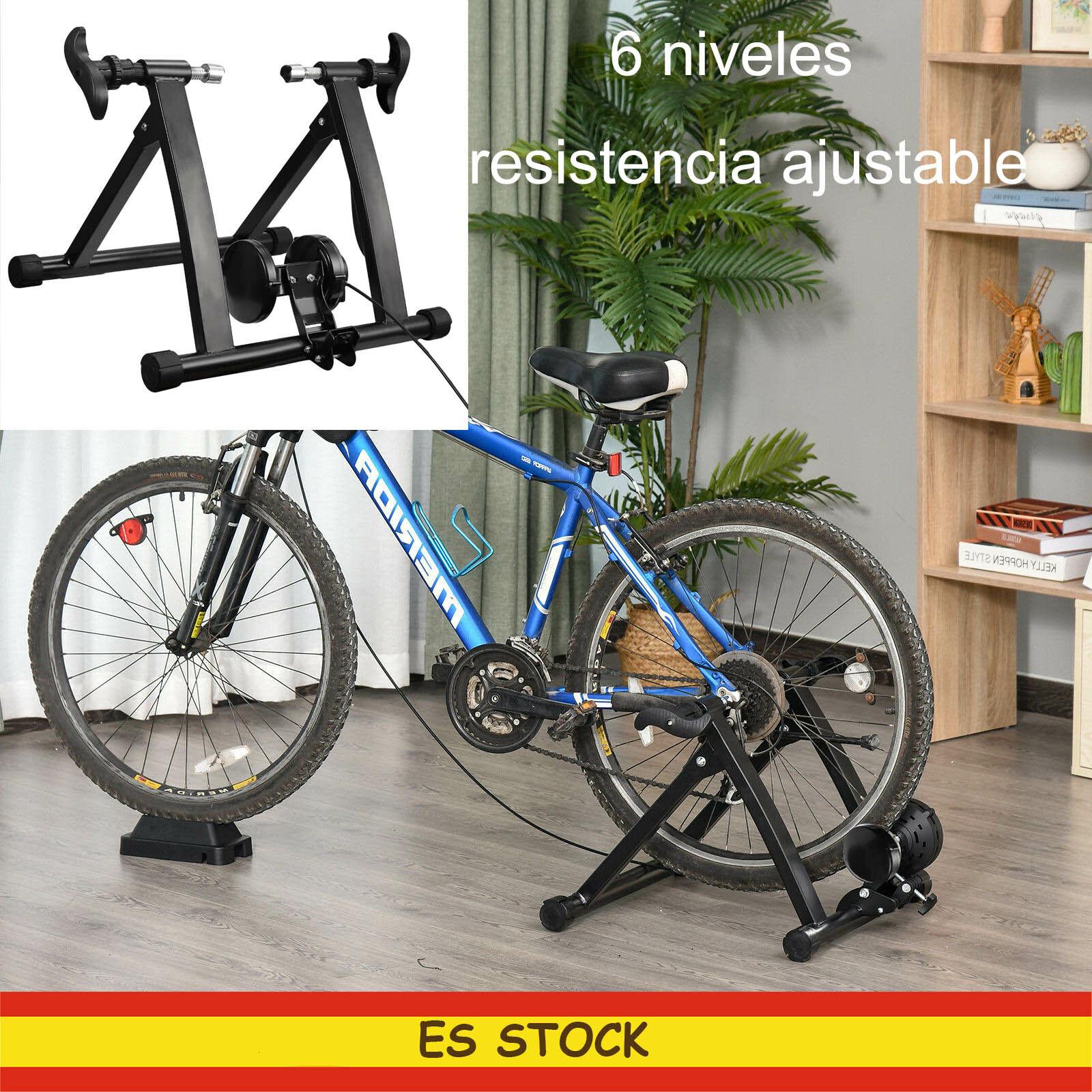 Entrenadores de bicicleta Rodillo Ciclismo Turbo Trainer Resistencia Ajustable
