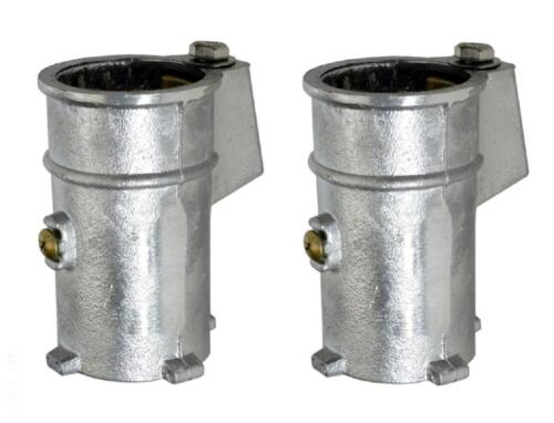 "Perma-Cast Anchor Socket for 1.9/"" Rail PS-4019-C PS4019C 4/"" ALUMINUM  **PAIR**"