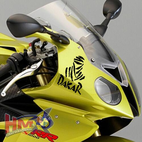 HM© Dakar  Aufkleber Dakaraufkleber  70 x 51 mm Motorrad 4 Stück AG-0032