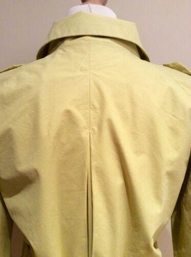 Size Cotton Belt Jigsaw Yellow Nylon 10 Coat pEwPq0