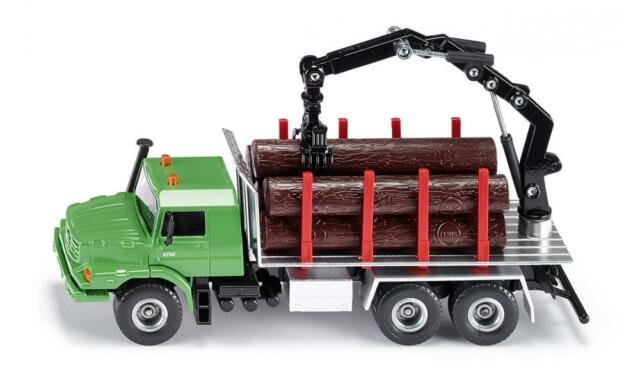 SIKU - Mercedes-Benz Zetros Log transporter - 1:50 Scale NEW toy model #2714