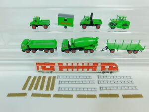 Bo486-0-5-Wiking-h0-1-87-wimo-Coleccion-Unimog-MB-hormigoneras-etc-Neuw