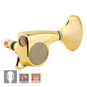 NEW-Gotoh-SGL510Z-L5-Set-Tuners-510-Delta-w-Screws-1-21-Gear-Ratio-3x3-GOLD