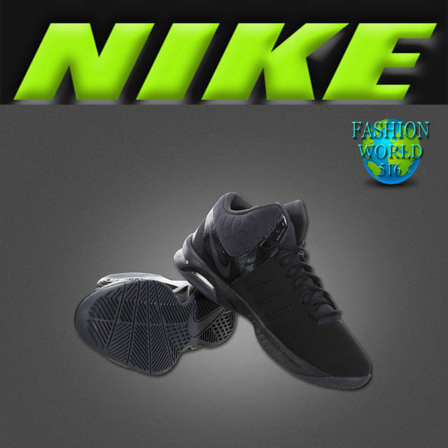 best sneakers 75ca5 95aaf Nike Men s Size 8 Air Visi Pro VI Nubuck Basketball Shoes Black 749168 003  for sale online   eBay