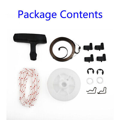Recoil Spring Starter Pulley Handle Rope Rotor Pawl F STIHL MS290 MS390