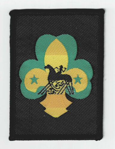 ROVER SCOUT KNIGHT OF OPIN AWARD PATCH SCOUTS OF NORWAY NORGE SCOUT /& GUIDES