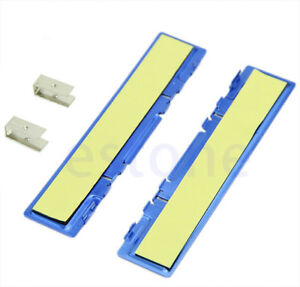 5x Aluminium Heatsink Shim Spreader Cooler Cooling DDR DDR2 DDR3 RAM Memory BLUE
