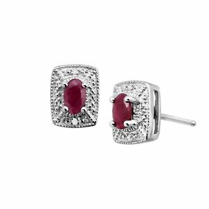 3-4-ct-Natural-Ruby-Stud-Earrings-with-Diamonds-in-Sterling-Silver