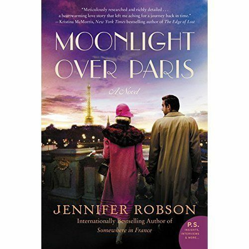 1 of 1 - Moonlight Over Paris: A Novel-ExLibrary