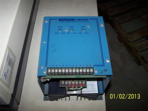 Halmar Robicon Resistance Heating POWER CONTROLLER  Panel 1PCI-2490-CL//0C-D 240v