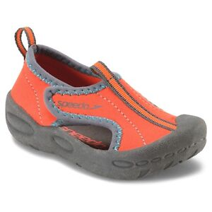 0b000b79f43e Image is loading Speedo-Toddler-Hybrid-Water-Shoes-Orange-Small-5-