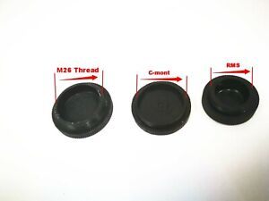 10pcs-Microscope-objective-lens-CCD-Camera-Lens-Dust-Cover-M26-RMS-C-mount