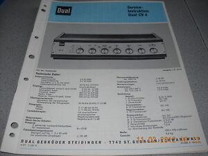 Dual-CV4-Service-Manual